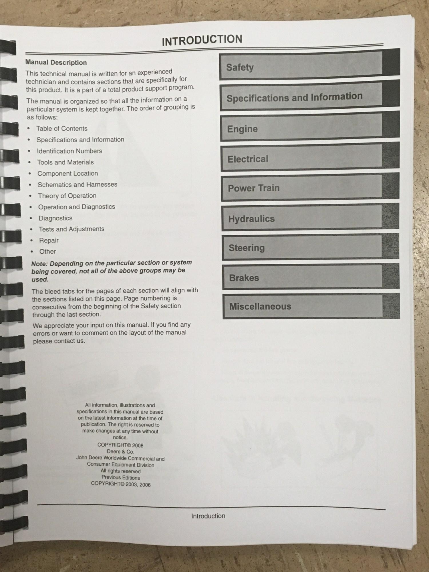 hight resolution of  john deere 2210 tractor technical manual tm2074 jd book