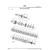 John Deere 410C 510C 610C Backhoe Parts Catalog JD PC2065