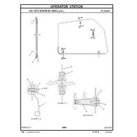Caterpillar 428D Backhoe Loader Parts Manual CAT SEBP3969