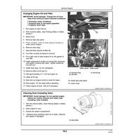 John Deere 1023E 1025R Compact Utility Tractors Operators