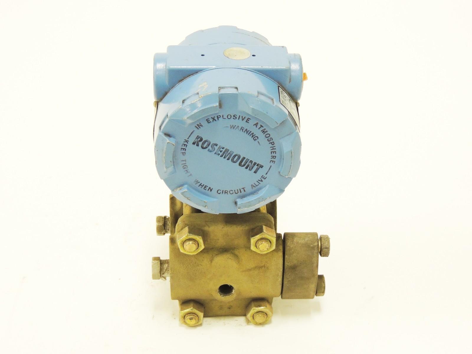 rosemount pressure transmitter wiring diagram 02 chevy silverado radio used 1151dp4512dfd2 45 vdc