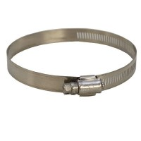 IDEAL 2 1/2 - 4 1/2 INCH STAINLESS STEEL BOAT HOSE CLAMP ...
