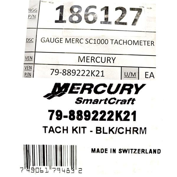 Mercury SmartCraft SC1000 79-889222K21 Boat 7000 RPM