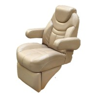 Misty Harbor Reclining Pontoon Boat Captains Chair w ...