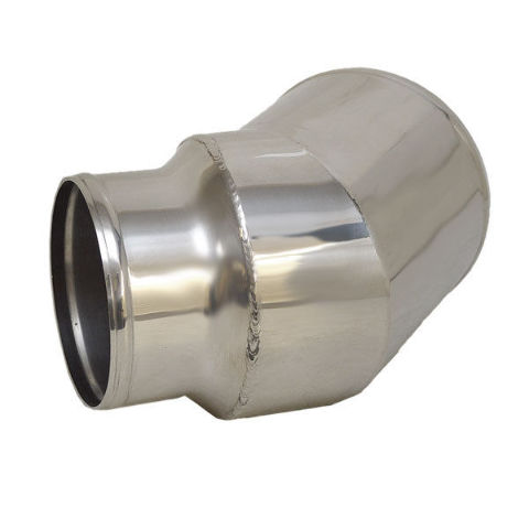 CORSA 11867U POLISHED STAINLESS 4 INCH / 5 INCH BOAT