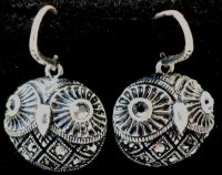 Vintage Inspired Rhinestone Owl Earrings Antique Finish ...
