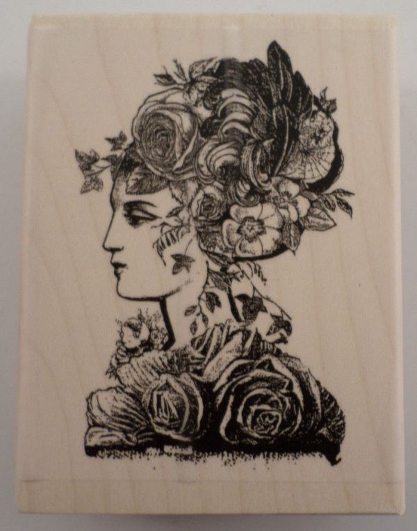 Stampington & Rubber Stamp Sweetbriar Floral