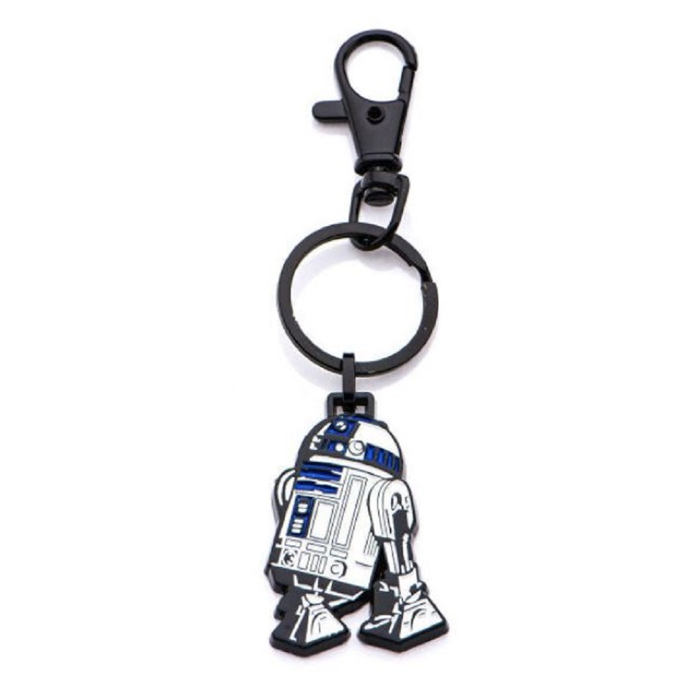 Inox Body Vibe Disney Star Wars R2-D2 Droid Key Chain Fob