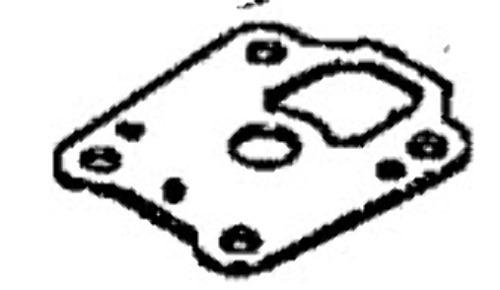 27-16160004 Mercury Mariner 4-6 HP Water Pump Guide Plate