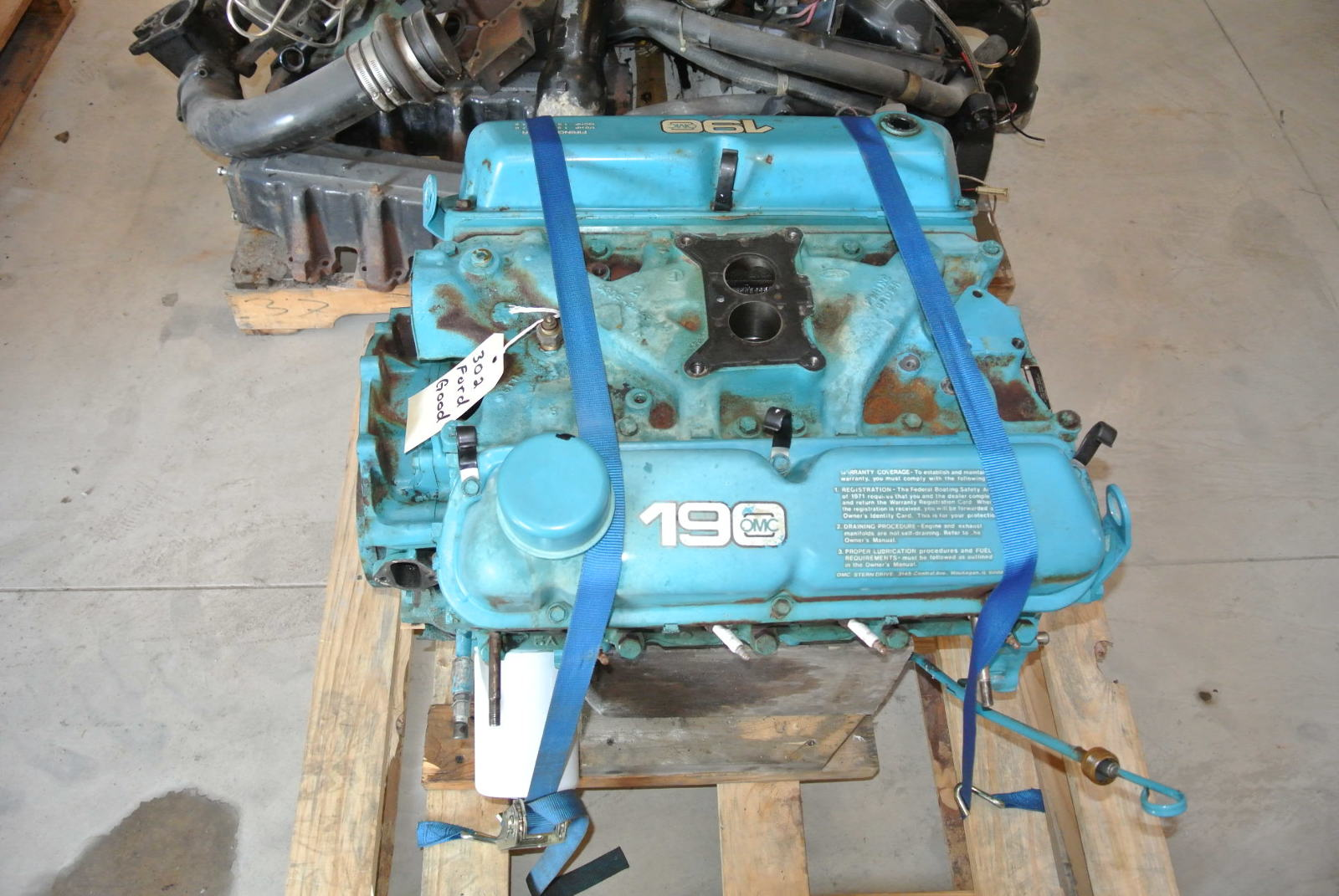hight resolution of ford 302 marine engine parts