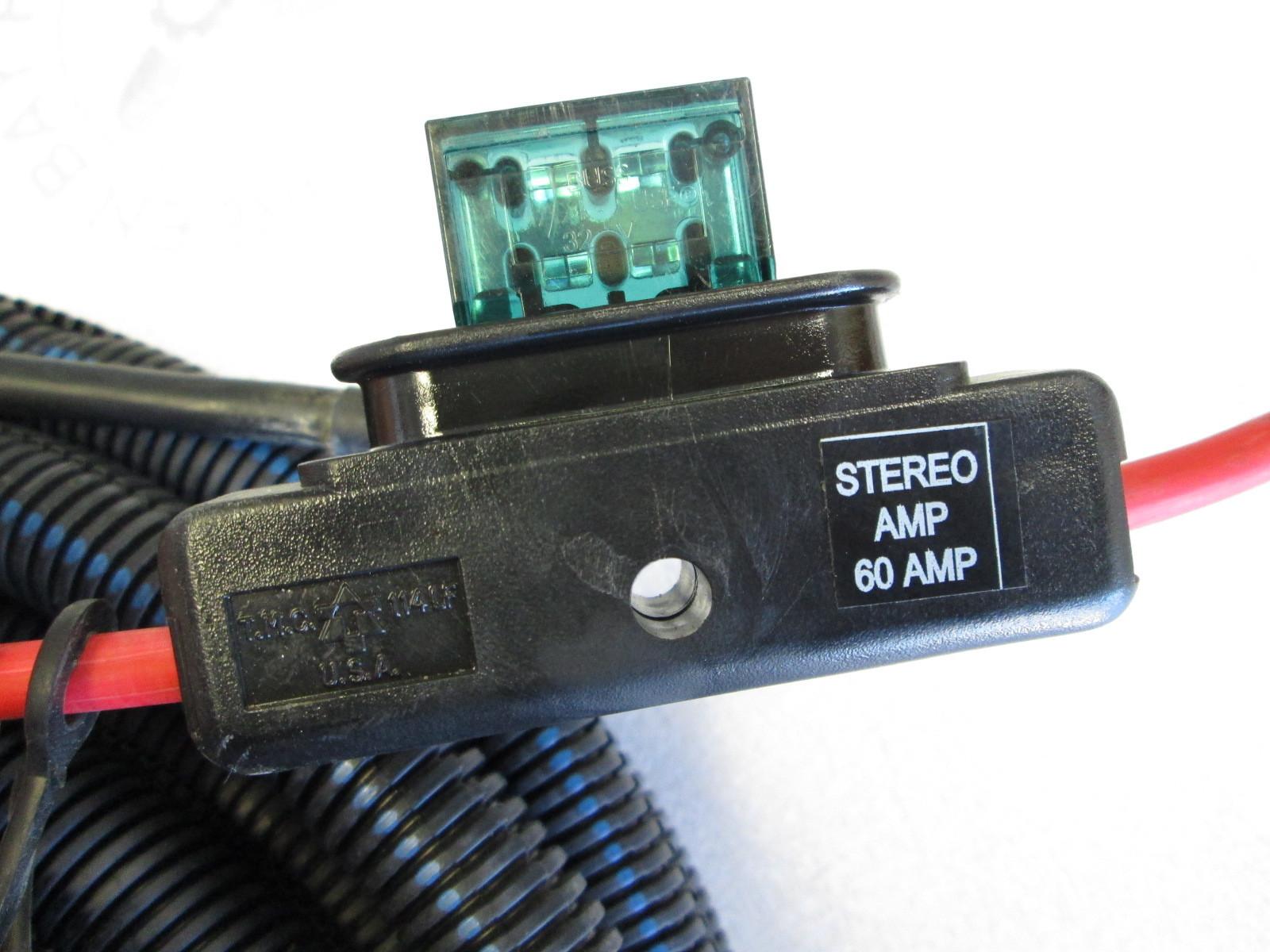 Corvette Bose Amplifier Wiring Harnes