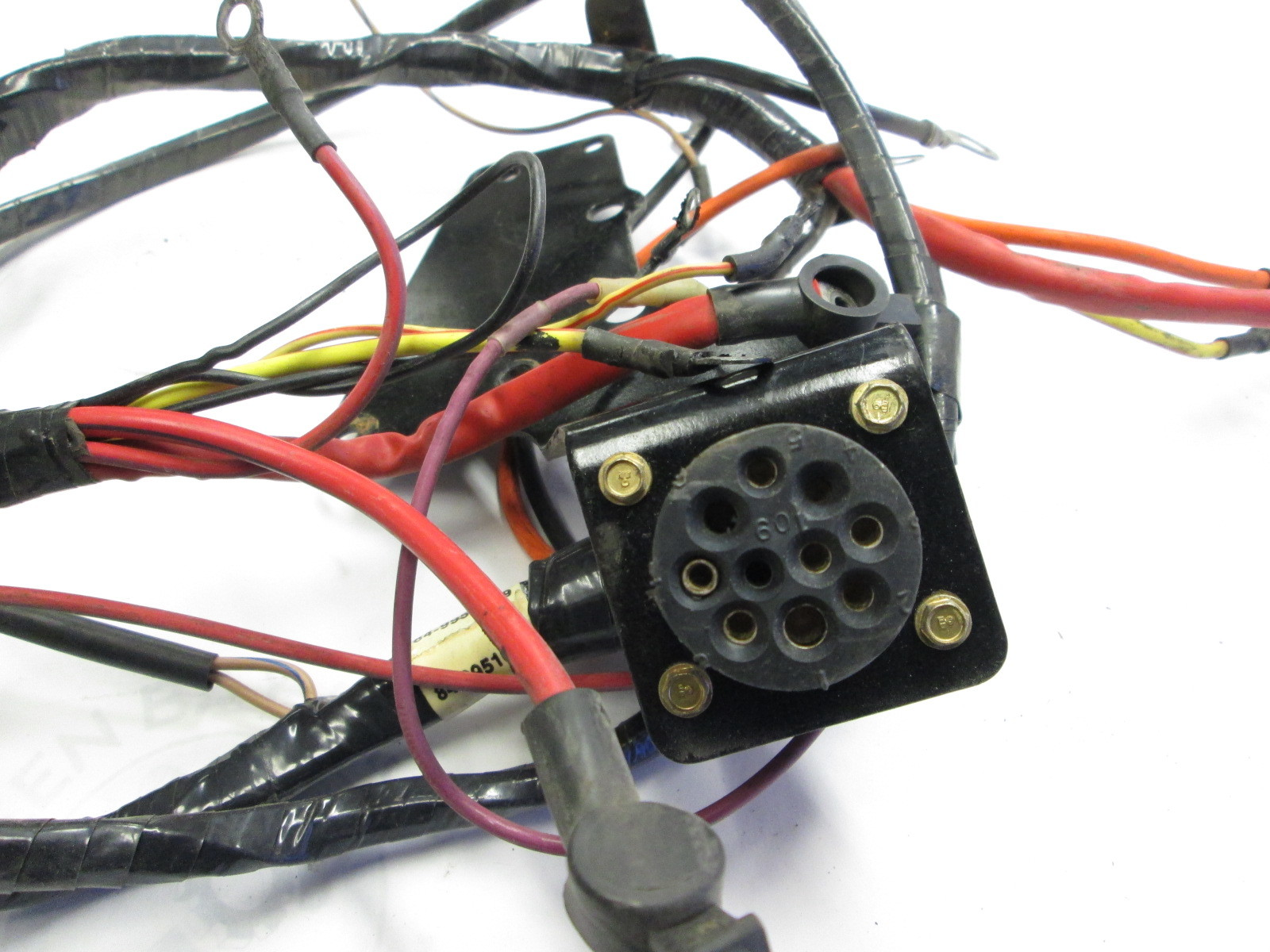 Mercruiser Wiring Harness Plug
