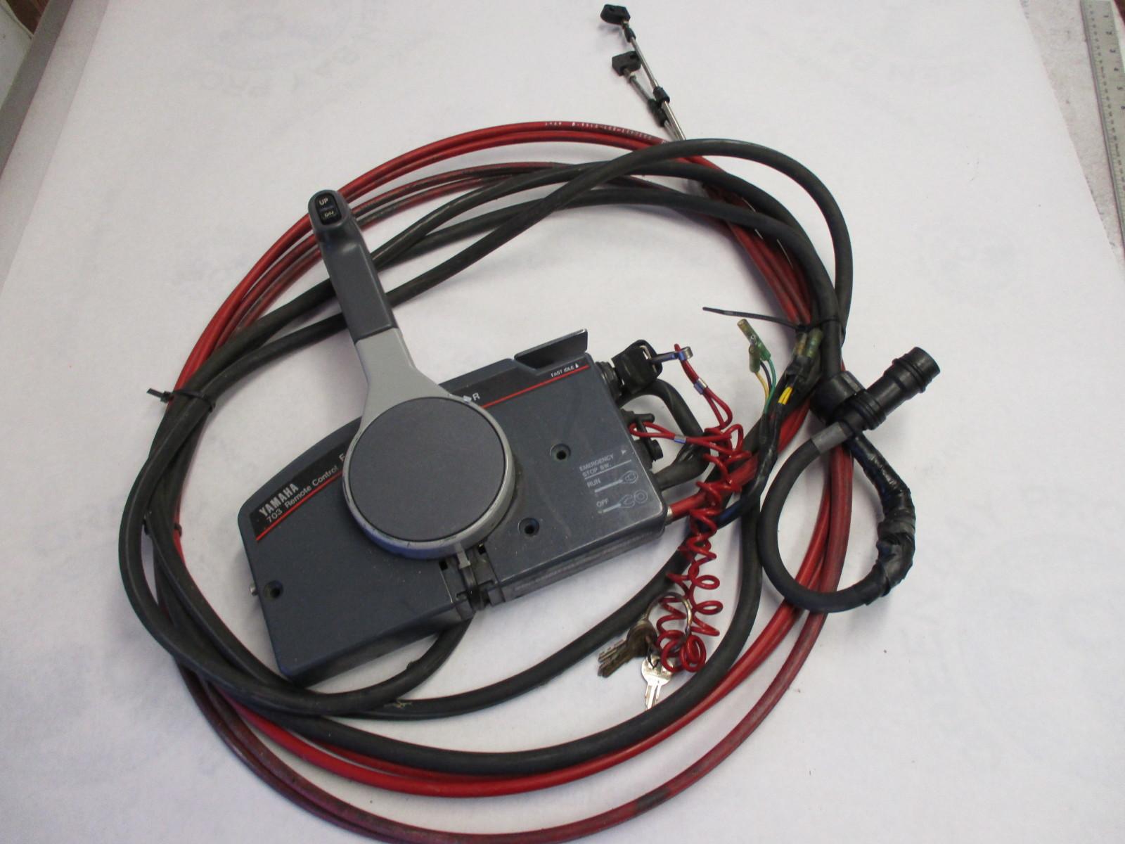 Yamaha 703 Remote Control Wiring Diagram Yamaha Outboard Remote