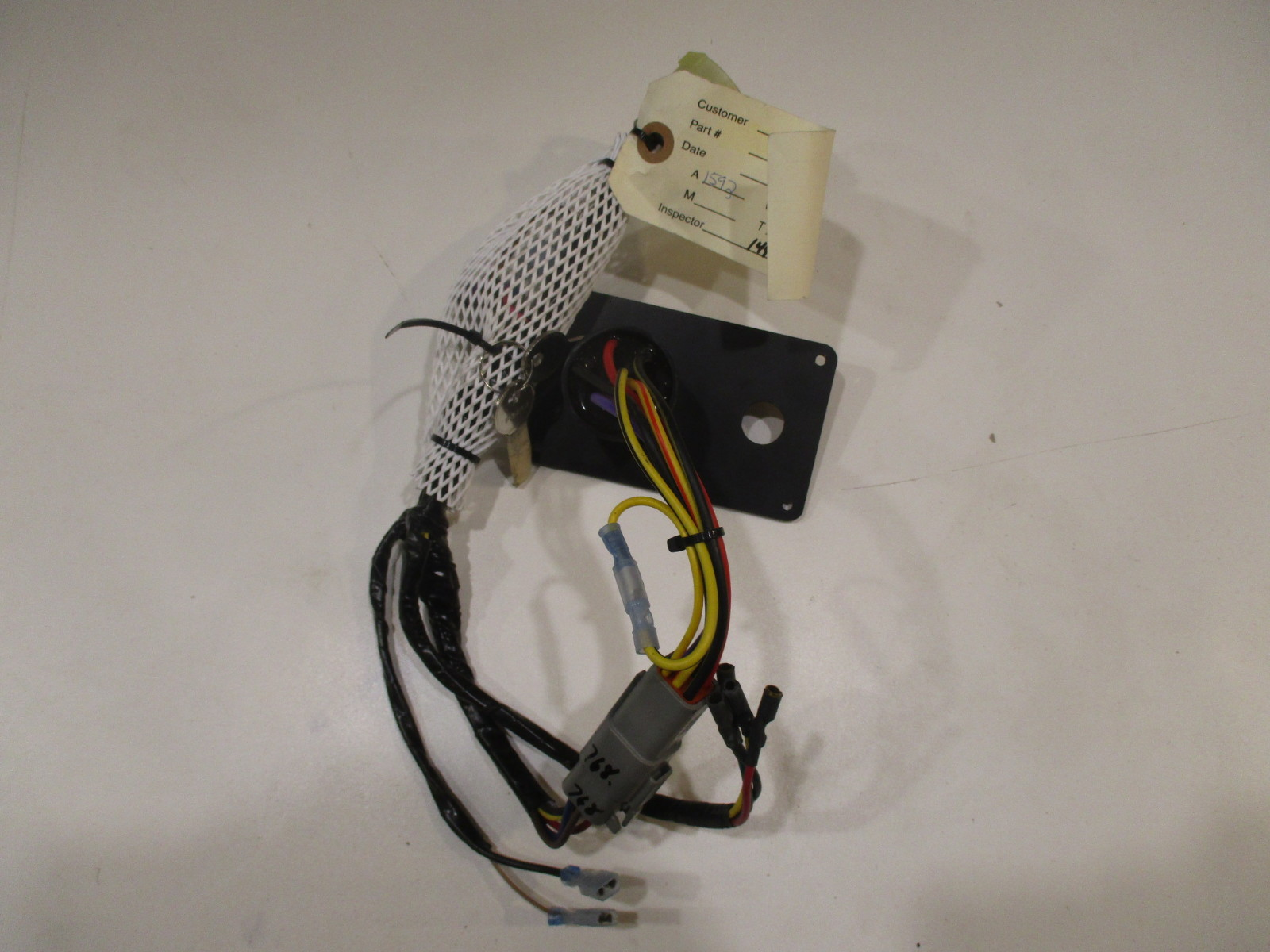 Ignition Switch Wiring Diagram Yamaha Outboard Ignition Switch Wiring