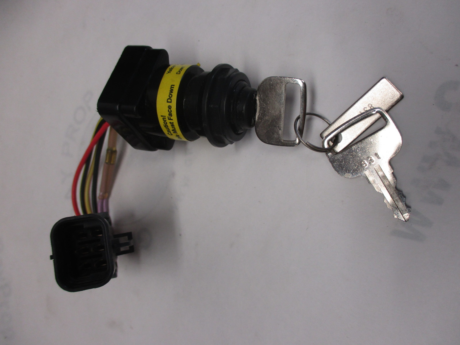 Mercury Outboard Ignition Wiring