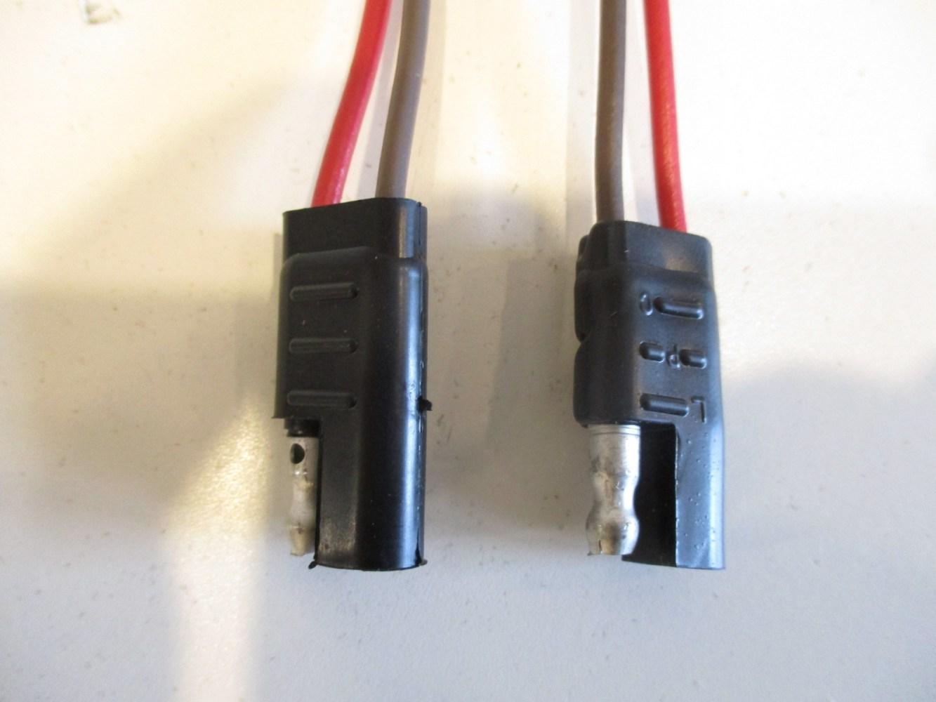 medium resolution of waytek 2 pin trailer wiring connector battery 16 ga 8 7 pin trailer wiring diagram uk