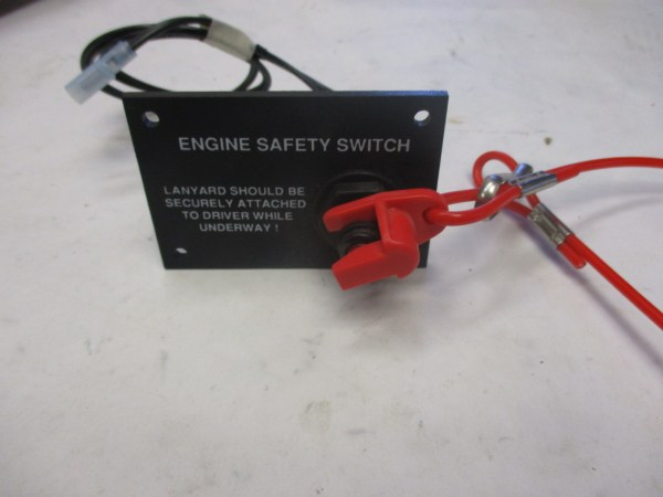 Marine Boat Dash Engine Safety Kill Switch Panel And