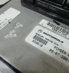 859610a70 mercury mariner 200 hp dfi optimax ecu ecm engine control module 2001  [ 1600 x 1200 Pixel ]