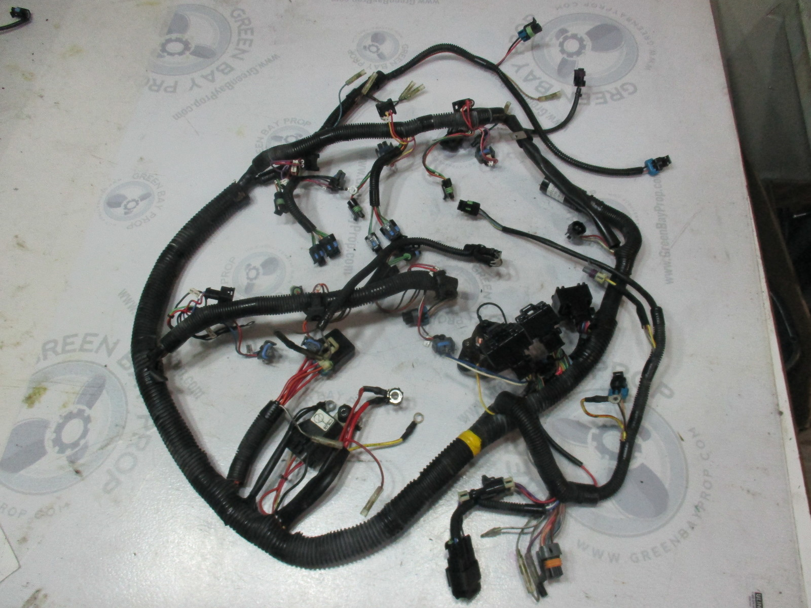 hight resolution of 84 878082t4 mercury mariner optimax dfi 200 3 0l engine cable wire harness green bay propeller marine llc