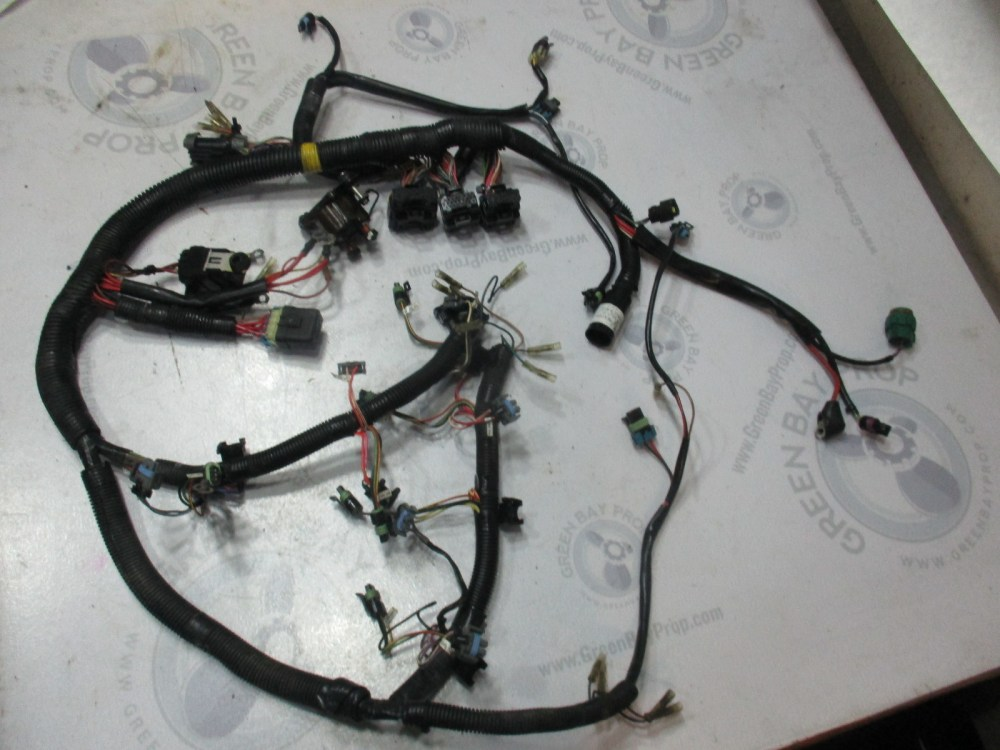 medium resolution of  84 858367t1 mercury mariner optimax dfi 200 3 0l engine cable wire harness
