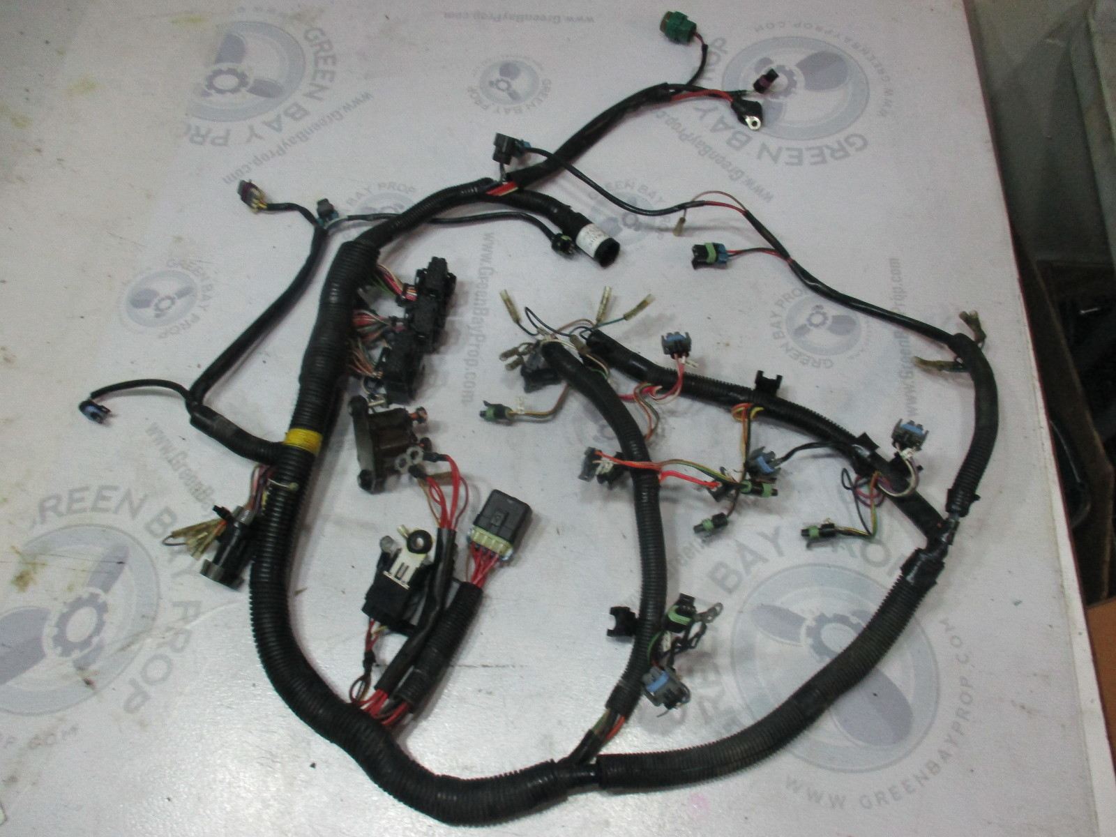 hight resolution of 84 858367t1 mercury mariner optimax dfi 200 3 0l engine cable wire harness green bay propeller marine llc