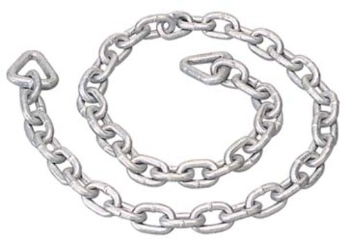 GALVANIZED ANCHOR CHAIN-3' Overall Length, 3/16