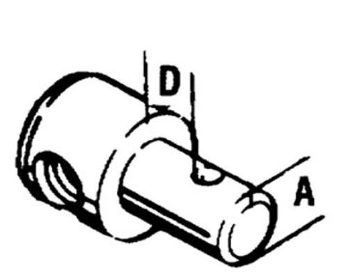3300/33C ENGINE END FITTING-Pivot, 5/8
