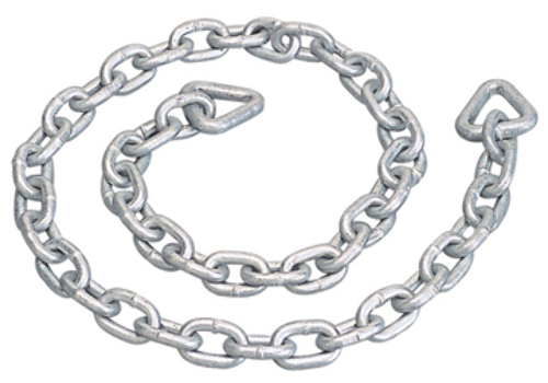 ANCHOR CHAIN, GALVANIZED-4' Overall Length, 3/16