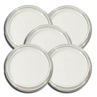 25 Guardhouse Direct Fit Plastic Coin Capsule Holders