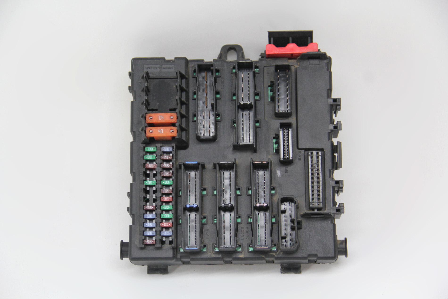 hight resolution of saab 9 3 interior rear fuse box 12805847 oem 03 04 05 06 07 extreme auto parts