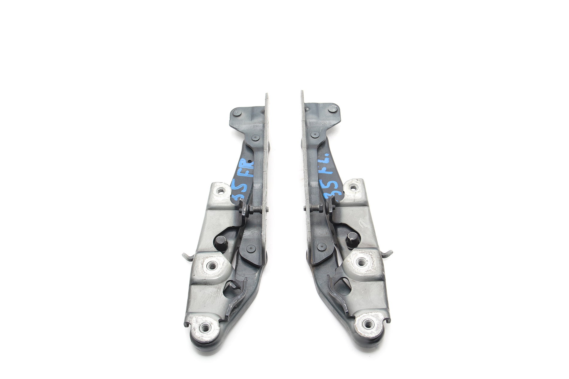Mercedes Benz Cls500 Hood Hinge Left Right Set Of 2 Dark Blue Oem