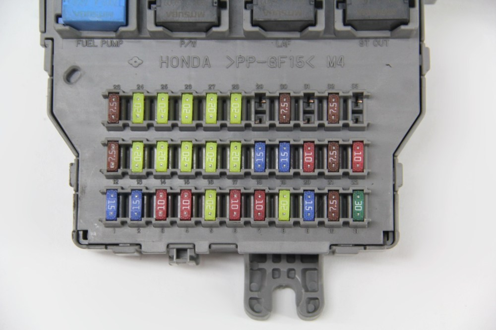 medium resolution of acura tsx 07 fuse box interior under dash control relay 38200 sec