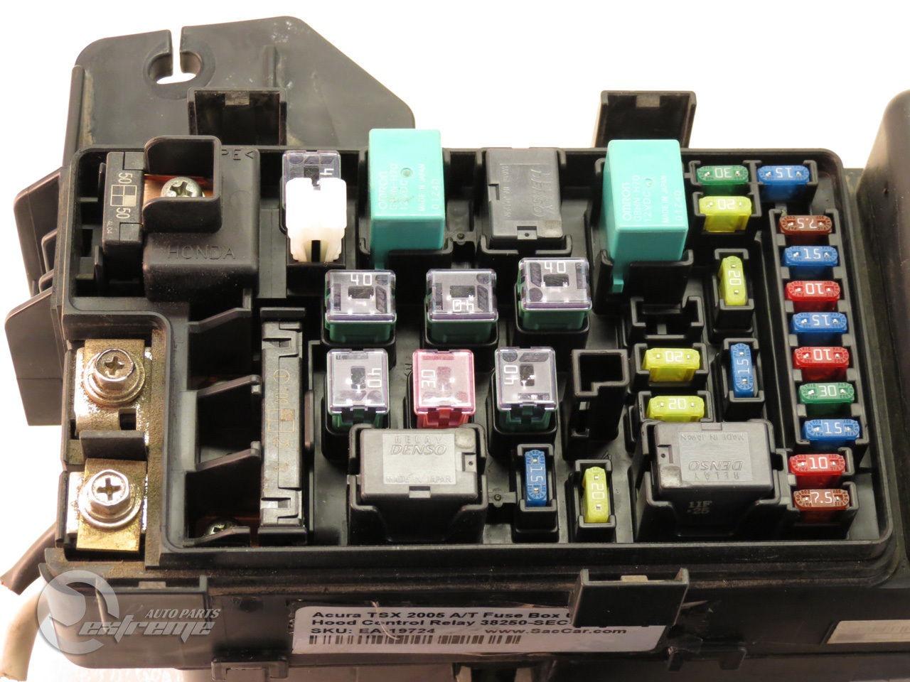 2009 acura mdx fuse box