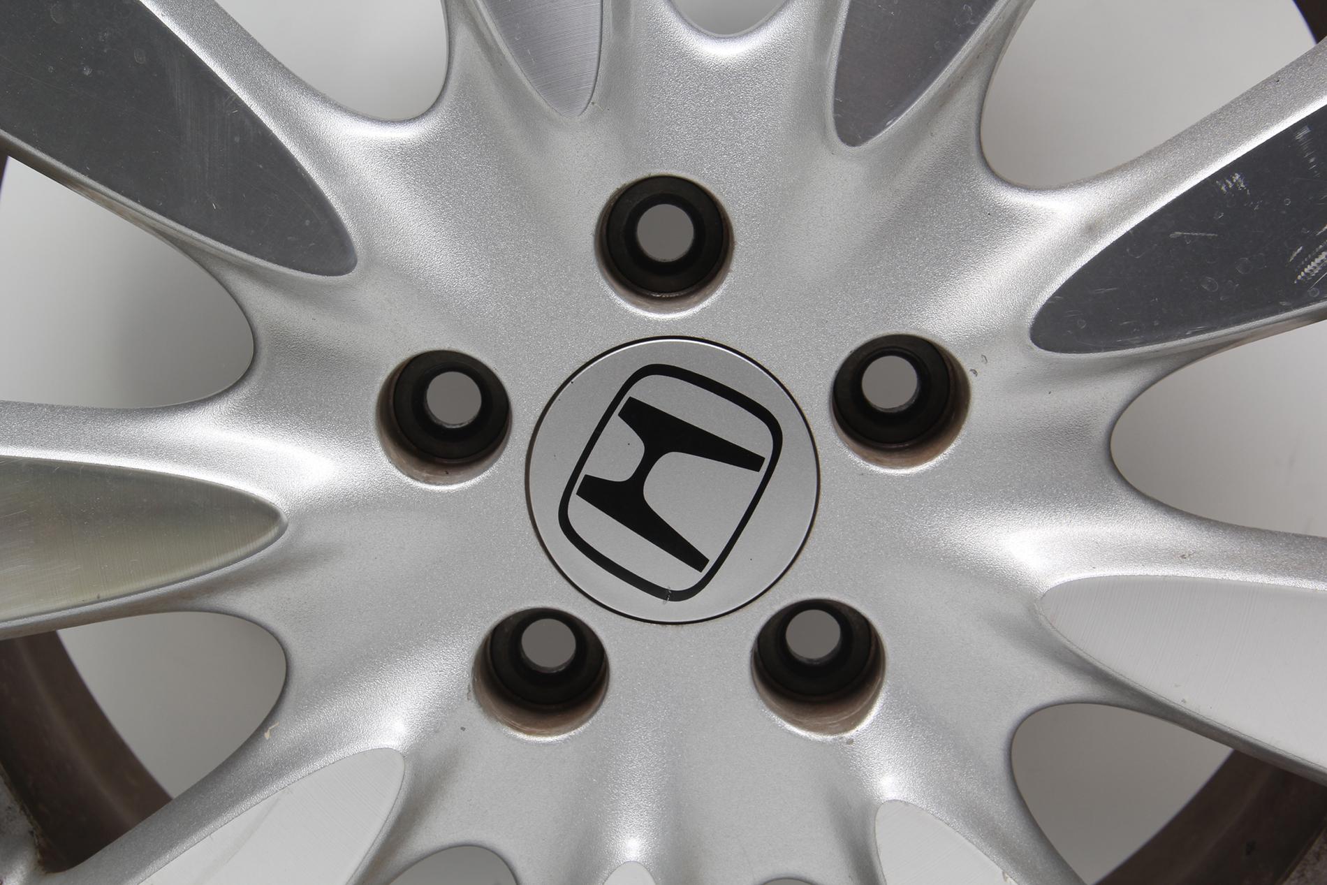 06 Honda Accord 17 Black Wheels