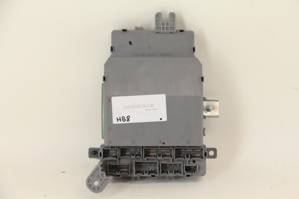 medium resolution of acura tl type s 2007 rear fuse box junction unit assembly for acura tl type s