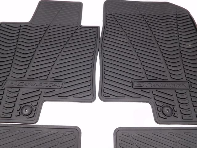 New OEM 20102014 Hyundai Sonata Complete Floor Mat Set
