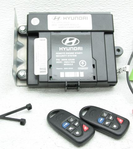 Oem Hyundai Elantra Remote Start Kit 3x056 Adu01