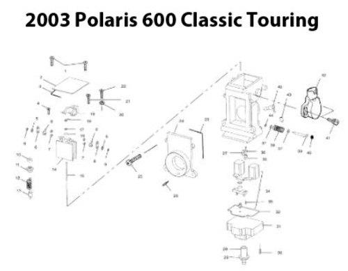 Polaris Indy 600 Classic Touring Snowmobile Carburetor