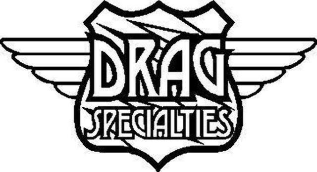 Drag Specialties Chrome Bottom Saddlebag Support Brackets