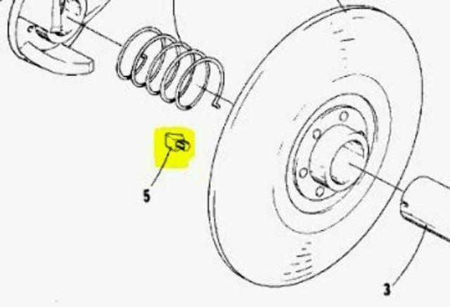 Teflon Driven Clutch Slide Shoe-Ramp 3 Pack for Vintage