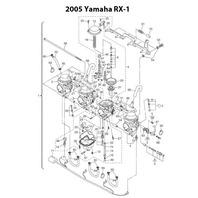 Yamaha RX-1 Mountain Limited Edition Snowmobile Carburetor