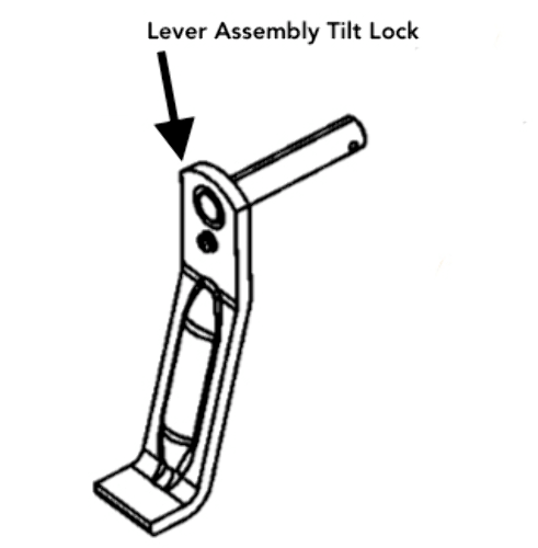 NEW Mercury Mercruiser Quicksilver 99629T2 Tilt Lock Lever