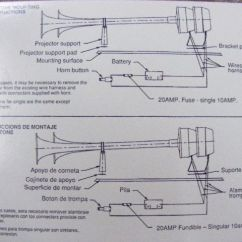 Wolo Dixie Horn Wiring Diagram 2002 Dodge Ram 2003 3500 2006 Radio Harn Fiamm Air Schematic Mfg Corp Horns Accessories Dual