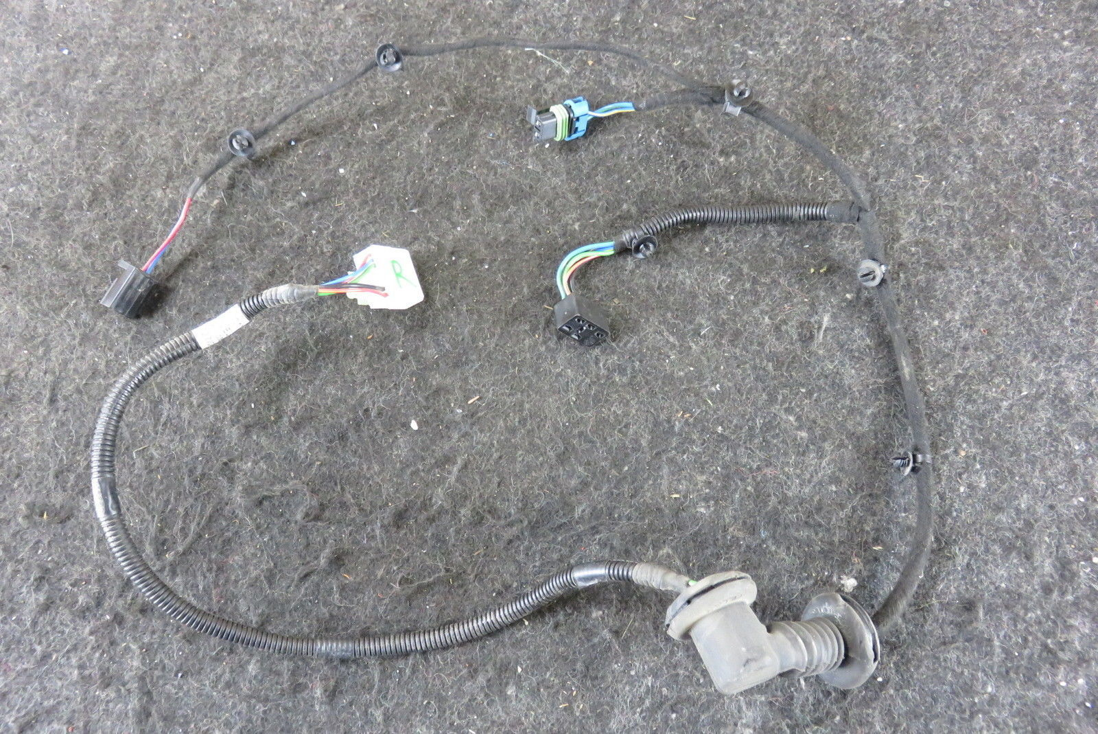 hight resolution of 05 lotus elise right door wiring harness c117m0018