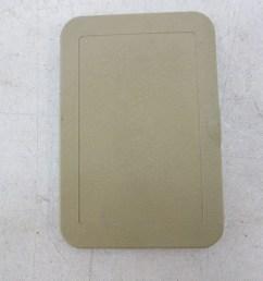 89 mercedes r107 560sl 380sl trim fuse box cover beige passenger footwell  [ 1600 x 1069 Pixel ]