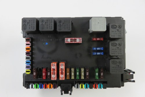small resolution of 09 mercedes s63 w221 s550 fuse relay box sam module 2215405950 s auto parts