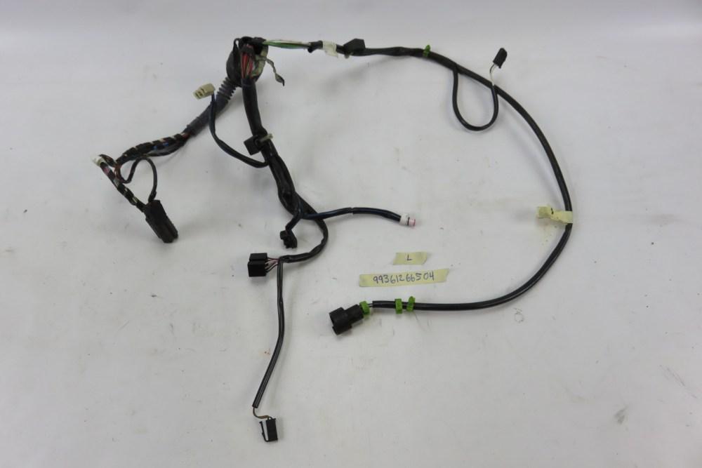 medium resolution of 96 porsche 911 993 left door wiring harness
