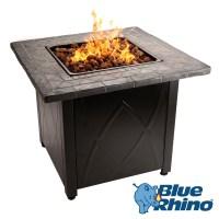 Outdoor Propane Gas Fire Pit by Blue Rhino | eBay