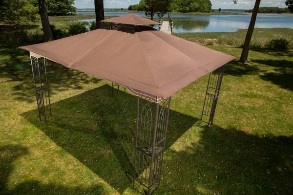Gazebo 10 X 12 Regency Ii Patio Canopy With Mosquito Netting