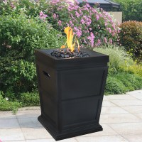 Steel Blue Rhino Outdoor Propane Gas Fire Pit | eBay